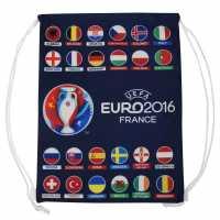 Uefa Euro 24 Nation Gymbag Navy Футболна разпродажба