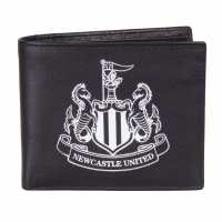 Sale Nufc Embossed Wallet Black Портфейли