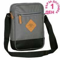 Soulcal Чантичка С Презрамка Mini Gadget Bag Charcoal/Black Чанти през рамо