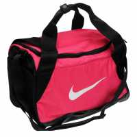 Nike Brasilia Xs Training Duffel Bag (Extra Small) RUSH PINK/BLACK/WHITE Сакове за фитнес