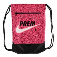Nike Premier League Stadium Gymsack Pink/Black Сакове за фитнес