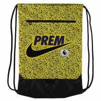 Nike Premier League Stadium Gymsack Yellow/Black Сакове за фитнес