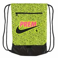 Nike Premier League Stadium Gymsack Volt/Black Сакове за фитнес