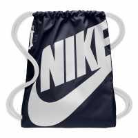 Nike Heritage Gymsack Navy Сакове за фитнес