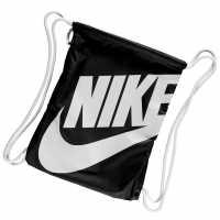Nike Heritage Gymsack Black/White Сакове за фитнес