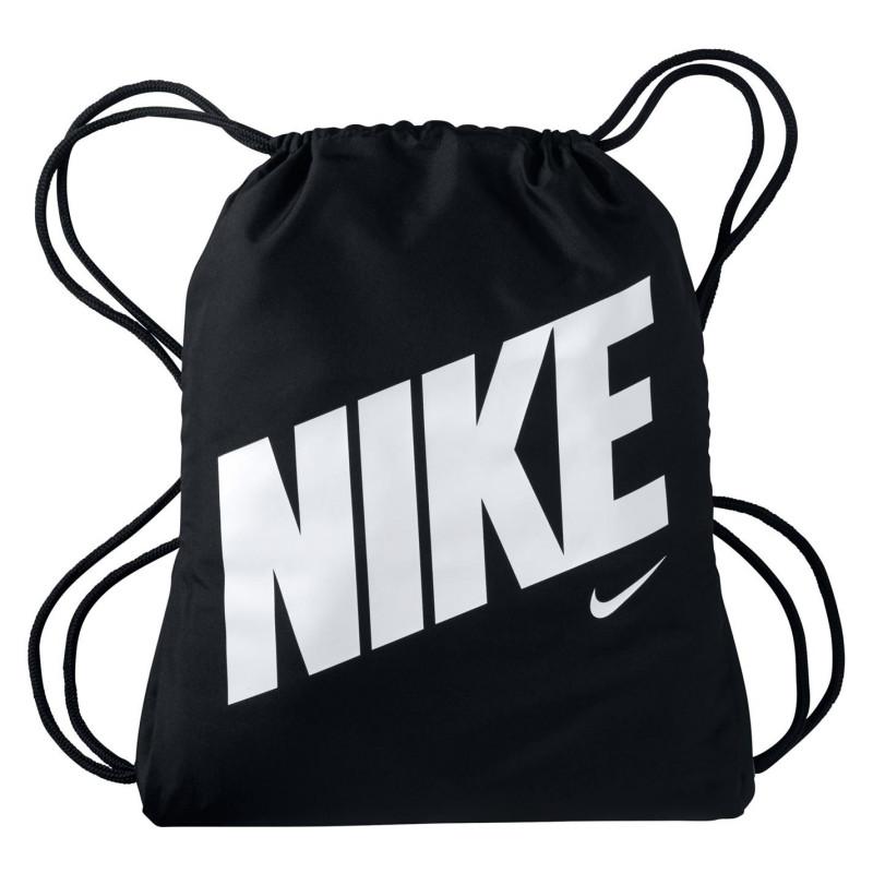 082bcb771a9 Nike Чанта За Спорт Graphic Gym Sack Black/White Сакове за фитнес
