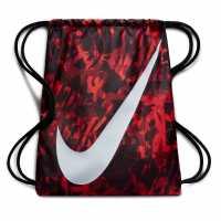 Nike Чанта За Спорт Graphic Gym Sack Crimson Red Сакове за фитнес