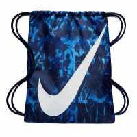 Nike Чанта За Спорт Graphic Gym Sack Royal Blue Сакове за фитнес