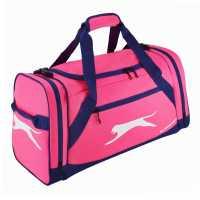 Slazenger Medium Holdall Pink/Navy Сакове за фитнес