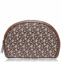 Dkny Jacquard Logo Wash Bag CHIN VIC CVU Дамски чанти
