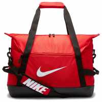 Nike Academy Team Soccer Medium Duffel Bag Red Сакове