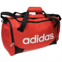 Adidas Linear Team Bag Small Red Сакове за фитнес