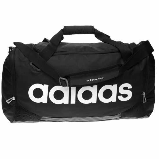 2ccecc15057 Adidas Linear Team Bag Medium Black Сакове за фитнес