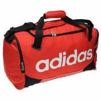 Adidas Linear Team Bag Medium Red Сакове за фитнес