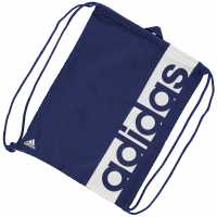 Adidas Linear Gymsack Ink/White Сакове за фитнес