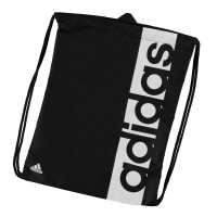 Adidas Linear Gymsack Black/White Сакове за фитнес