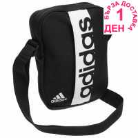 Adidas Linear Organiser Bag Black/White Чанти през рамо
