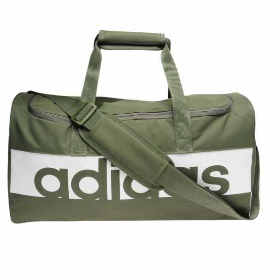 Adidas Linear Team Bag Base Green Сакове за фитнес