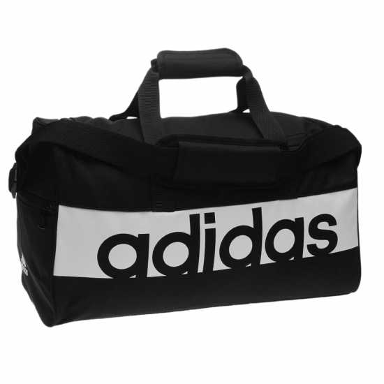 Adidas Linear Team Bag Black/White Сакове за фитнес