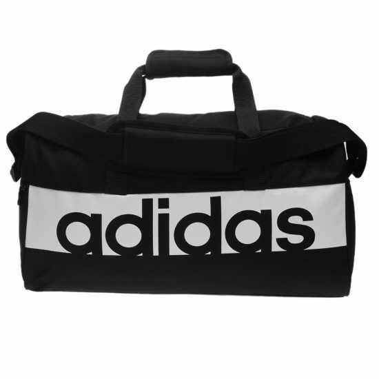 Adidas Linear Team Bag Black/White Сакове за фитнес