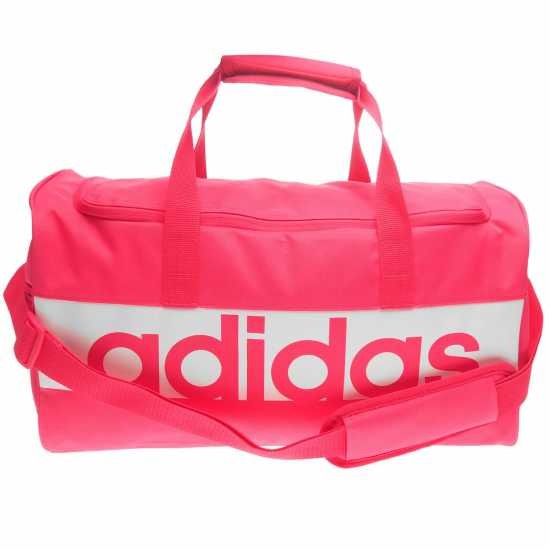 Adidas Linear Team Bag Real Pink/White Сакове за фитнес