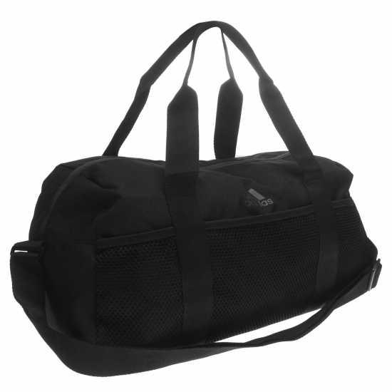 Adidas Core Duffel Bag Black/Grey Дамски чанти