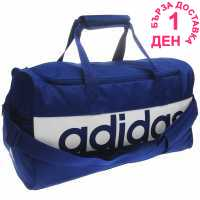 Adidas Linear Performance Teambag Medium Ink/White Сакове за фитнес