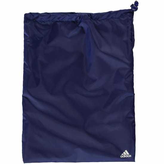 Adidas Linear Performance Teambag Medium Ink/White Сакове за фитнес