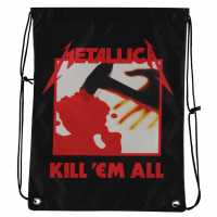 Official Gym Bag Mens Metallica Kill Сакове за фитнес