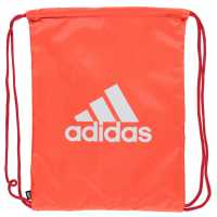 Adidas Performance Logo Gymsack Solar Red Сакове за фитнес