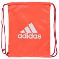 Adidas Чанта За Спорт Essentials Gym Sack Solar Red Сакове за фитнес