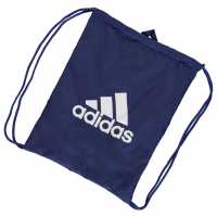 Adidas Performance Logo Gymsack Blue/White Сакове за фитнес