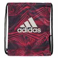 Adidas Чанта За Спорт Essentials Gym Sack Magenta AOP Сакове за фитнес