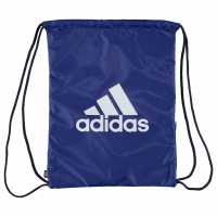 Adidas Performance Logo Gymsack Royal/White Сакове за фитнес