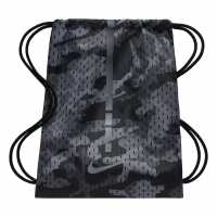 Nike Чанта За Спорт Hoops Elite Basketball Gym Sack Grey/Black Сакове за фитнес