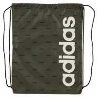 Adidas Чанта За Спорт Essentials Linear Core Gym Sack Khaki AOP Сакове за фитнес