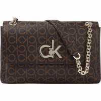 Чанта За Рамо Calvin Klein Calvin Klein Re-Lock Shoulder Bag  Дамски чанти
