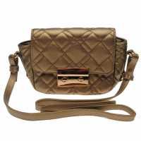 Sale Ватирана Чанта Full Circle Quilted Bag Gold Дамски чанти