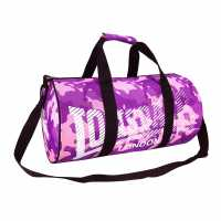 Lonsdale Сак Barrel Bag Pink/Purp Camo Сакове за фитнес