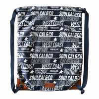 Soulcal Чанта За Спорт Satin Gym Sack Navy Сакове за фитнес
