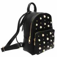 Glamorous Pearl Rucksack Black Дамски чанти