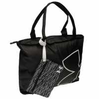 Under Armour Дамска Чанта С Дръжки Big Logo Tote Bag Ladies Black Дамски чанти
