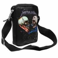 Sale Rocksax Crossbody Bag Metallica Sad Чанти през рамо