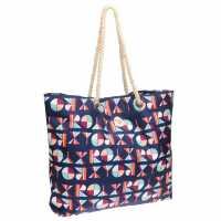 Roxy Дамска Плажна Чанта Beach Bag Ladies Navy Дамски чанти