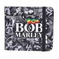 Official Music Wallet Marley Collage Портфейли