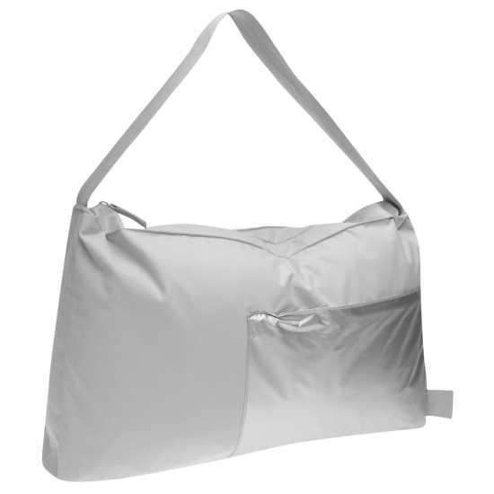Puma Цилиндрична Чанта Barrel Bag Lds 82 Grey Дамски чанти
