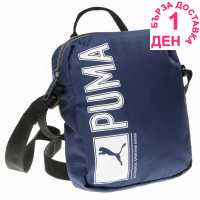 Puma Pioneer Portable Organiser Bag Navy Чанти през рамо