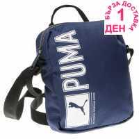 Puma Pioneer Portable Organiser Bag Navy Чанти през рамо