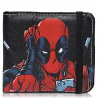 Character Marvel Wallet Mens Deadpool Портфейли