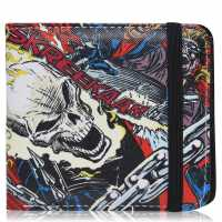 Character Marvel Wallet Mens Ghost Rider Портфейли